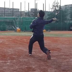 スローイング 野球